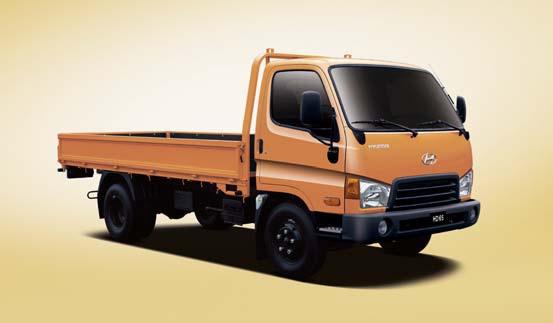 Бортовые грузовики hyundai