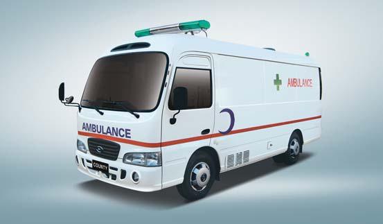 Машина скорой помощи hyundai