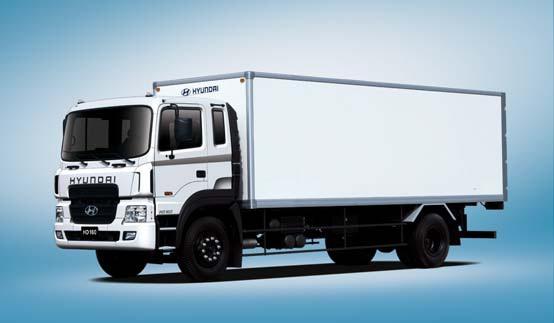 Промтоварные фургоны HD160
