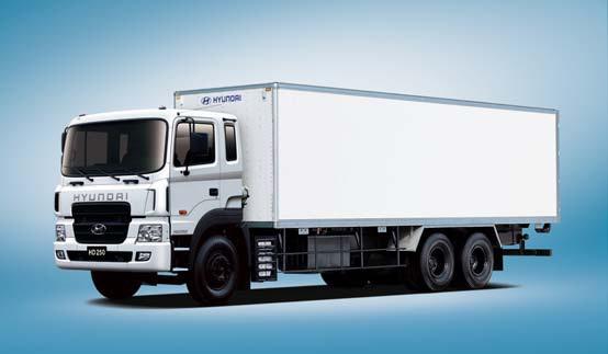 Промтоварные фургоны HD250