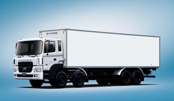 Промтоварные фургоны HD320