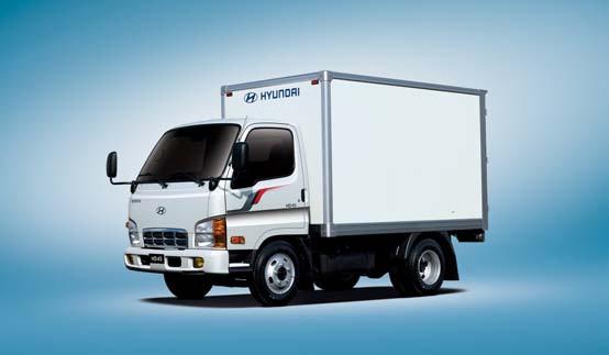 Промтоварный фургон HD45