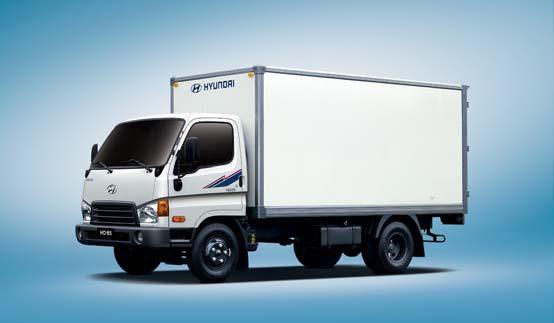 Промтоварные фургоны HD65
