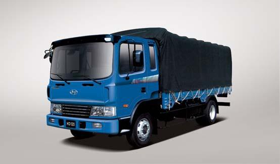 Войсковые грузовики  hd120