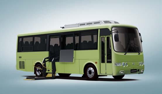 Автобусы для инвалидов hyundai