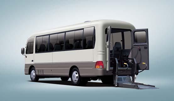 Автобусы для инвалидов