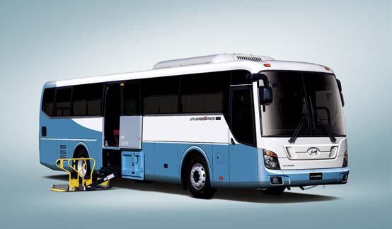 Автобусы для инвалидов universe